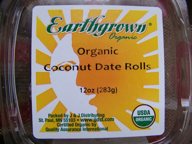 Chopped Dates Rolled in Coconut