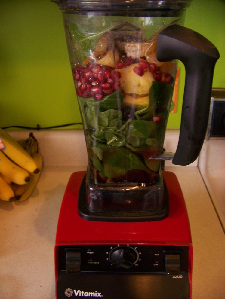 It even looks pretty in the blender