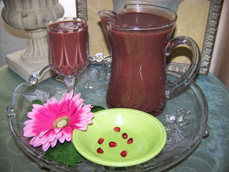 A Smoothie Fit for a Goddess