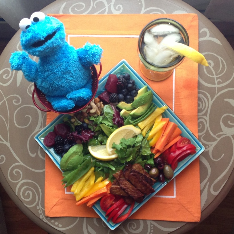 Freddie says food should be vibrant, playful, and fun!