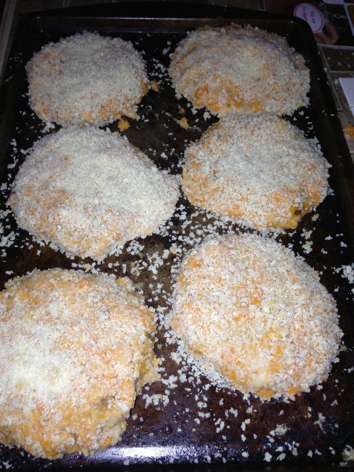 Oven ready sweet potato patties