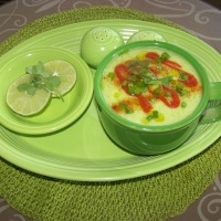 Dreaming in Green ~ St. Patrick's Day Cucumber Gazpacho Soup
