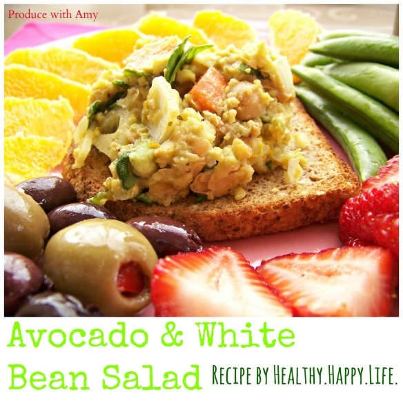 Avocado and White Bean Salad