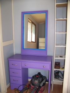 My future make-up nook.