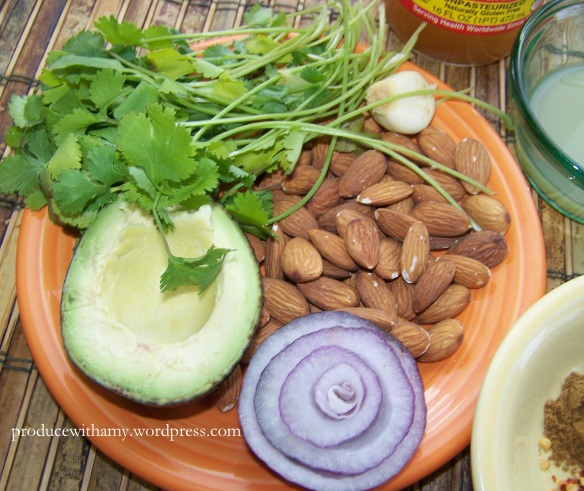 Cashews would work in this recipe as well.
