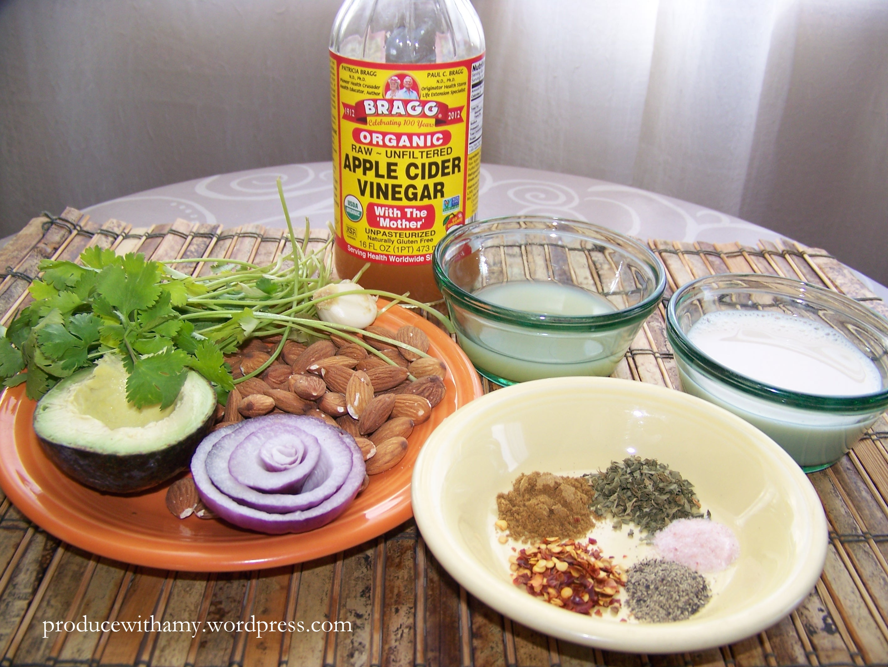 Homemade ranch dressing produce with amy raw unpasteurized vinegar has a lot of health benefits and i always keep a bottle forumfinder Gallery