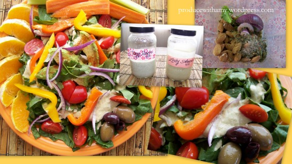 Homemade salad dressing that is fresh and free from the chemicals and preservatives that often accompanies store bought versions.