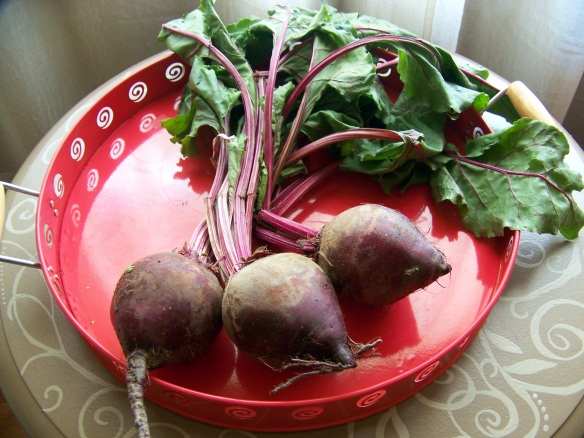 Do not to forget to save your beet tops. They are incredible in smoothies or lightly saute and drizzle with olive oil and serve as a side.
