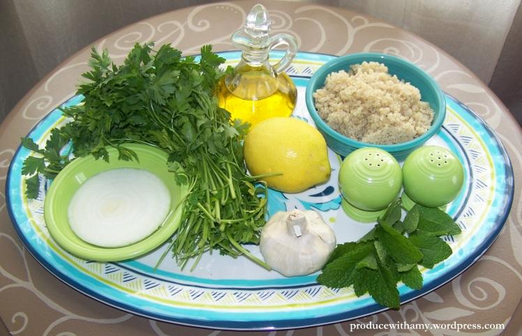 Tabouli ingredients