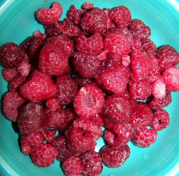 Fresh raspberries would be perfect in this recipe and makes me want to pick fresh berries this summer.