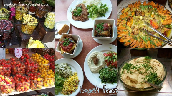 Photos that I snapped of food in Israel.