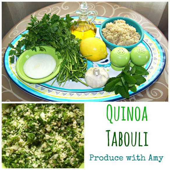 Quinoa Tabouli by Produce with Amy