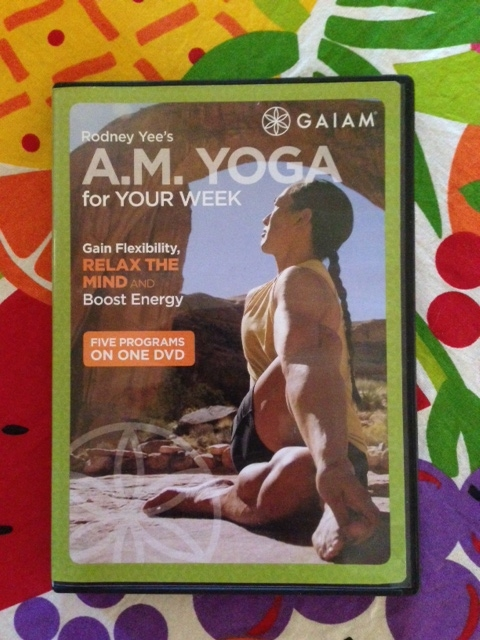 I highly recommend this DVD. It contains five 20 minute routines so you can rotate and do one each weekday morning. Yee is easy to follow and this is a great DVD for beginners.