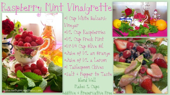 Raspberry Mint Vinaigrette