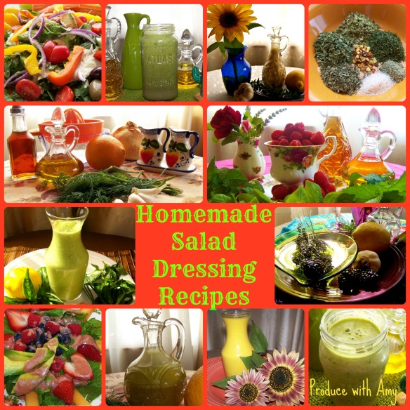 Homemade Salad Dressing Recipes. Wholesome and free from chemicals and preservatives.