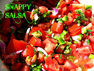 Snappy Salsa by Produce with Amy