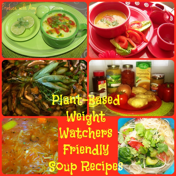 Plant-Based and Weight Watchers Friendly Soup Recipes