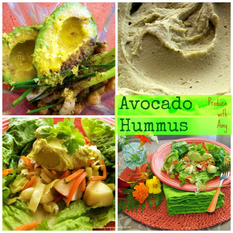 Avocado Hummus by Produce with Amy