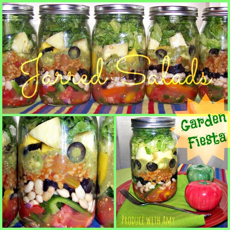 Garden Fiesta Jarred Salad