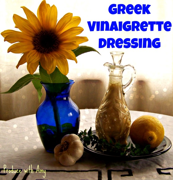 Greek Vinaigrette Dressing