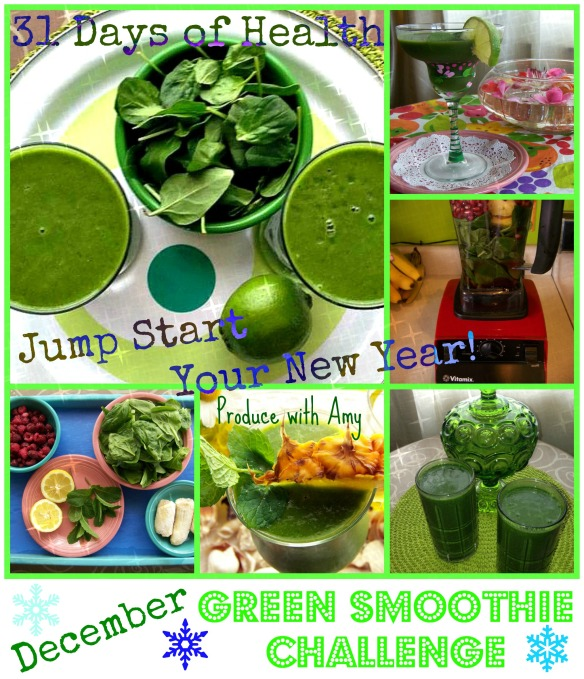 December Green Smoothie Challenge