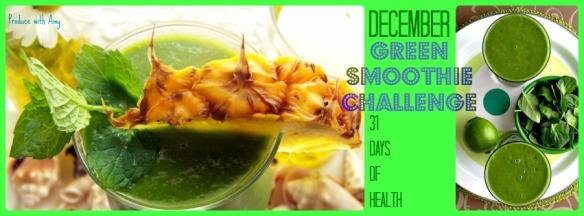 December Green Smoothie Challenge