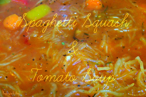 Spaghetti Squash and Tomato Soup 2