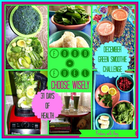 31 Day Green Smoothie Challenge