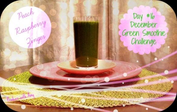 Day #16 December Green Smoothie Challenge