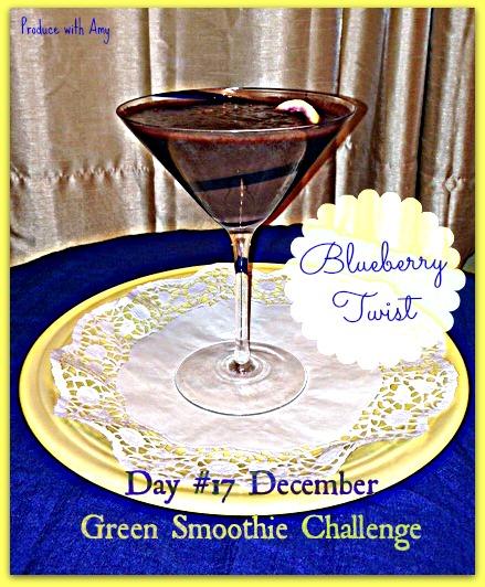Day #17 December Green Smoothie Challenge