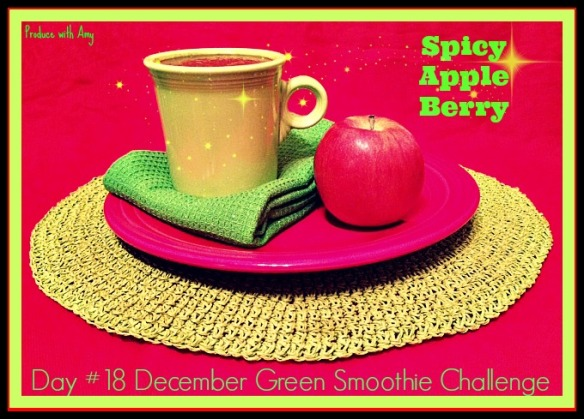 Day #18 December Green Smoothie Challenge