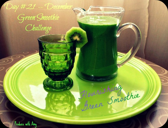 Day #21 December Green Smoothie Challenge