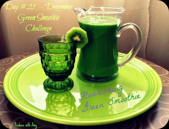 Day #21 December Green Smoothie Challenge