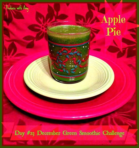 Day #23 December Green Smoothie Challenge
