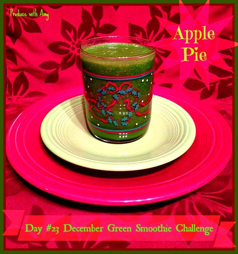 Day #23 December Green Smoothie Challenge