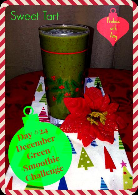 Day #24 December Green Smoothie Challenge