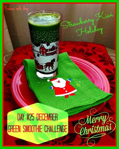 Day #25 December Green Smoothie Challenge