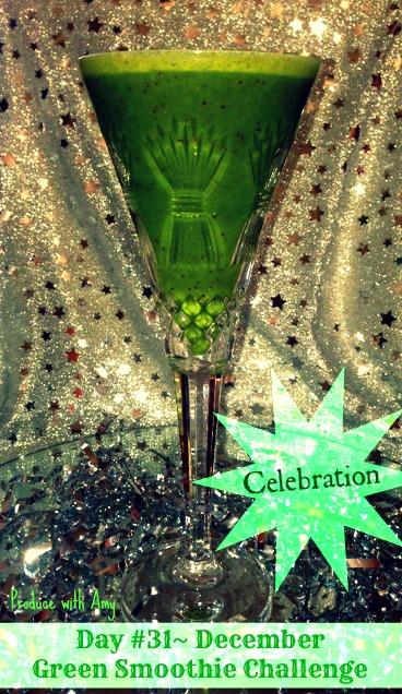 Day #31 December Green Smoothie Challenge