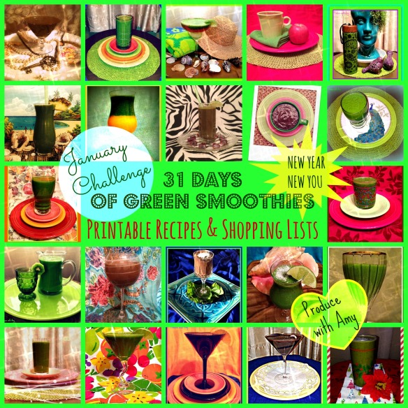 January Green Smoothie Challenge