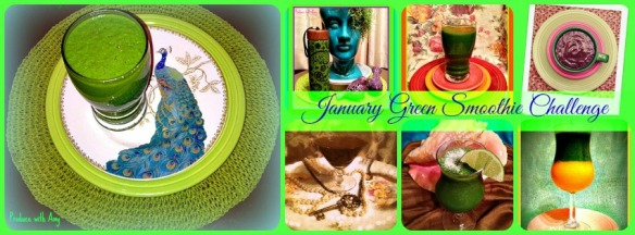 January Green Smoothie Challenge by Produce with Amy