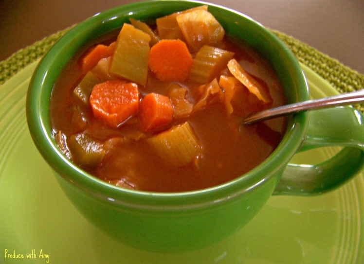 Cabbage Soup by Produce with Amy
