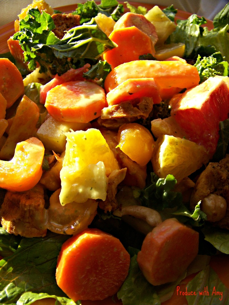 Sunshine Salad with Citrus and Pineapple