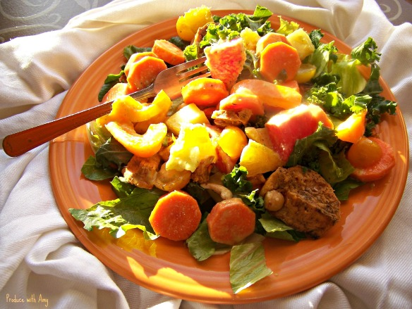 Sunshine Vegan Salad