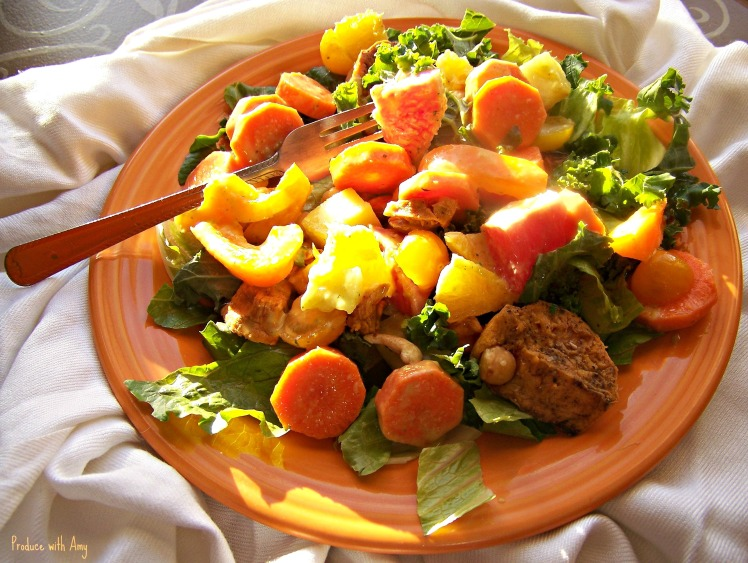 Sunshine Vegan Salad
