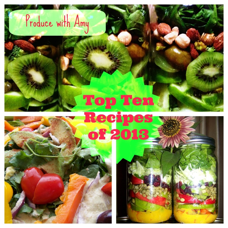 Top 10 Recipes of 2013 by Produce with Amy