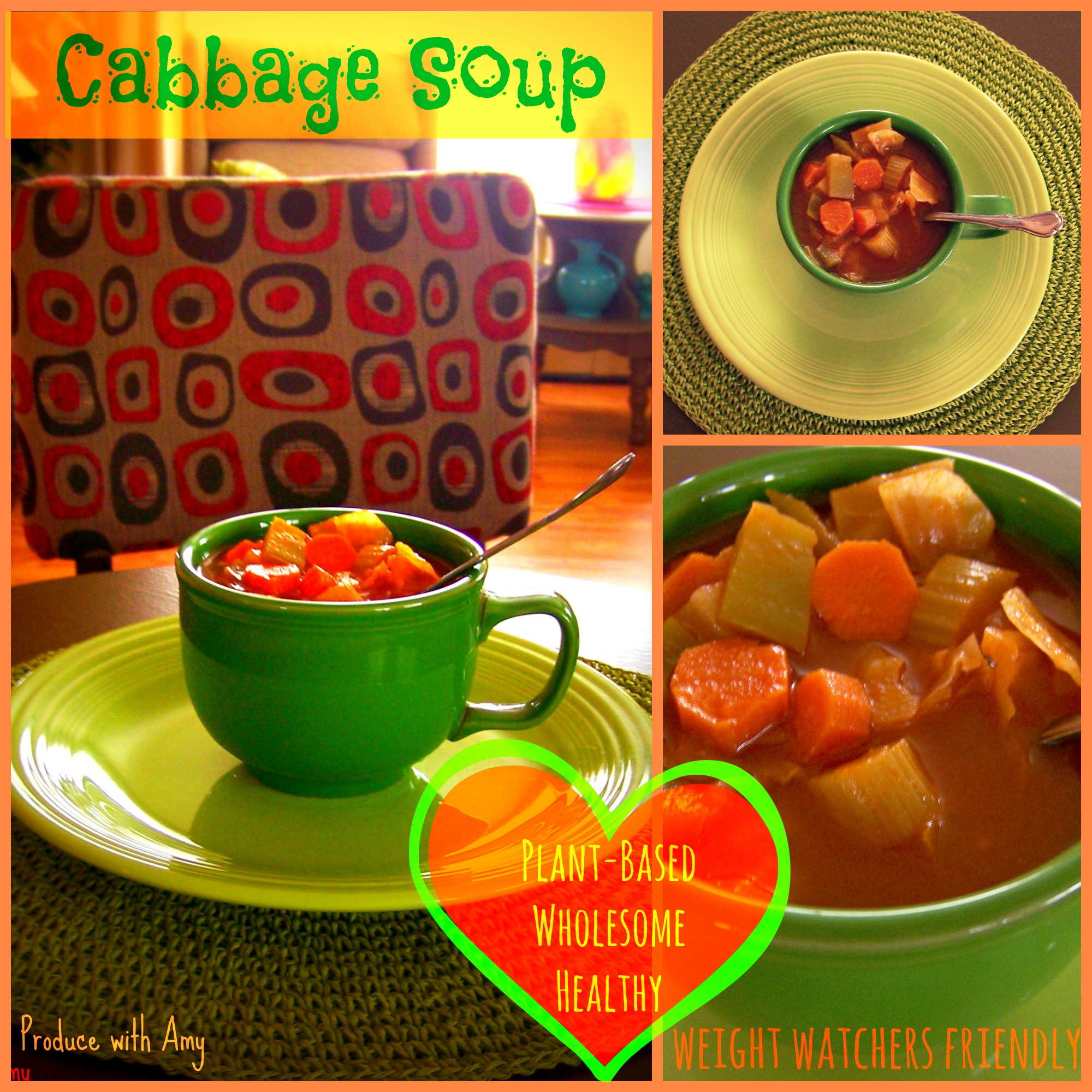 Weight Watchers Friendly Cabbage Soup