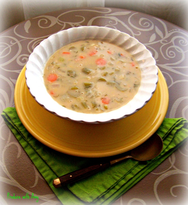 Creamy Lemon & Dill Soup