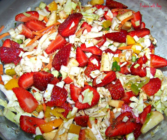 Citrus Berry Slaw by Produce with Amy