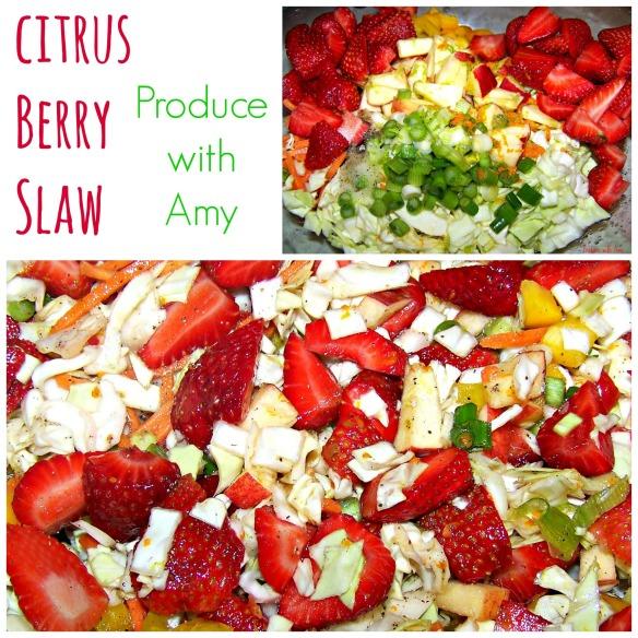 Citrus Berry Slaw