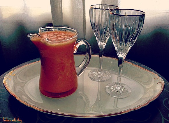 Carrot, Orange, and Ginger Juice for Two